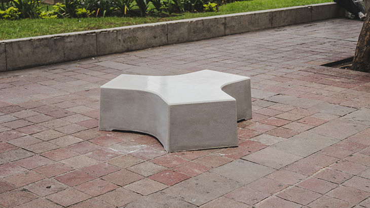 [BKT-AS-007/CEN/BCO] Asiento 007/Central (Blanco)